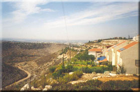 View from Israeli Settlement