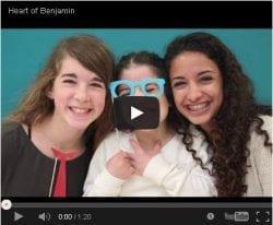 Heart of Benjamin video