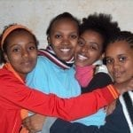 Ethiopian Girls in Kedumim