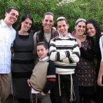 Bar Mitzva Family