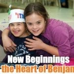 Heart of Benjamin girls