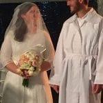 David and Ellie at Wedding
