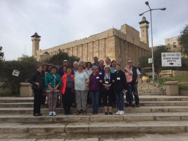 2017 CFOIC Tour in Hebron