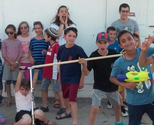 Children in Nokdim El-David