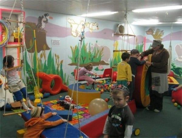 A fun indoor play room in Israel