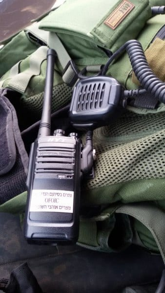 New communication equipment is vital for the Rapid Response team in the event of an emergency