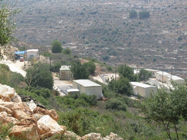 Havot Yair is isolated and vulnerable