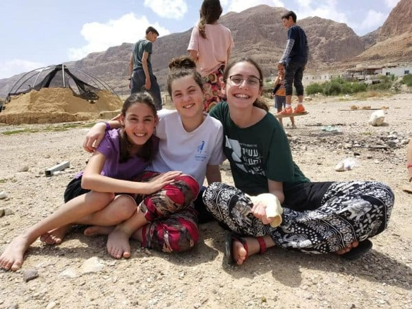 Teens in Ovnat love living in Biblical Israel