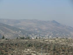 The beautiful Samaria mountains